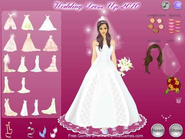 Wedding Dress Up 2010