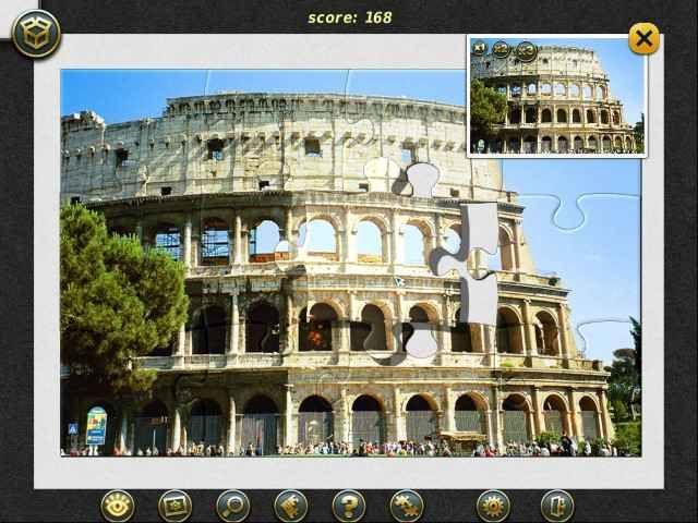 Пазл - тур. Рим