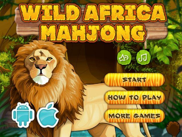 Маджонг: дикая Африка