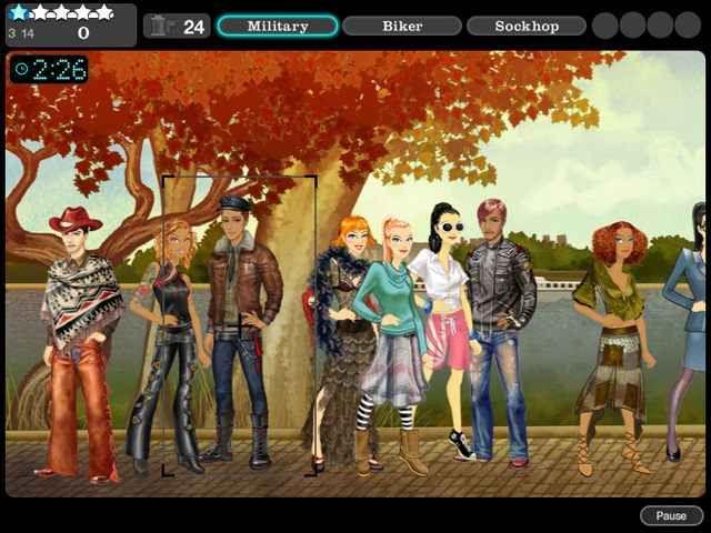 Модный показ от Джоджо 2: Лас - Крусес
